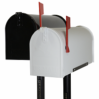 Flexible Mailbox Post Natural Ground