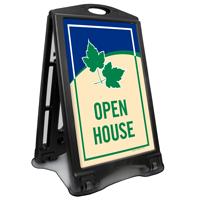 Open House A-Frame Sidewalk Sign Kit
