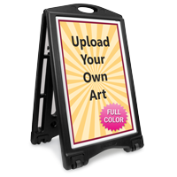 Upload Your Own Art Custom Sidewalk Sign