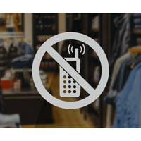 No Cellphone Symbol - No Cellphone Label