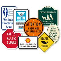 Custom Traffic Metal Signs Quoter