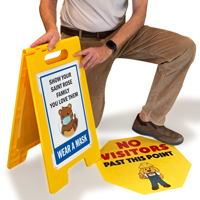 Custom Floor Signs Quoter