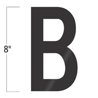 Die-Cut 8 Inch Tall Vinyl Letter B Black