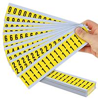Vinyl Cloth 0-9 Number Kit