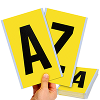 Vinyl Cloth 6 Inch Height, A-Z Alphabet Kit