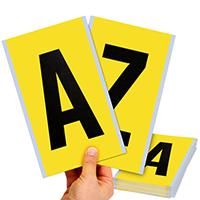 Vinyl Cloth 6 Inch Height, A-Z Alphabet Kit