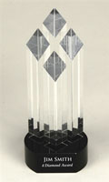 Custom Column Diamond Award