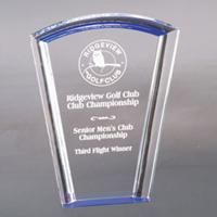 Fan Halo Acrylic Award