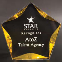 Luminary Star Acrylic Award