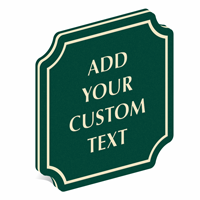 Add Custom Text PermaCarve Sign
