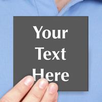 Custom Message Engraved Sign