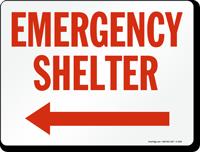 Emergency Shelter (Arrow Left)