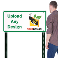 18 in. x 36 in. Customized Sign Template