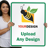 24 in. x 30 in. Customized Sign Template
