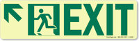 GlowSmart™ Directional Exit Sign, Arrow Up Sign