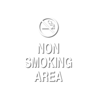 Non Smoking Area, with Graphic