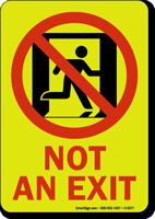 GlowSmart™ Not an Exit Sign