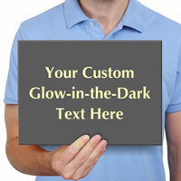 Create Own Glowing Engraved Sign