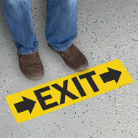 Exit with Right Arrows