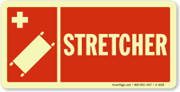 Stretcher Sign