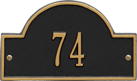 Arch Marker Petite Wall Plaque