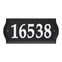 Night Bright Ashland Reflective Address Sign