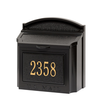 Custom Mailbox Address Plaque Kit