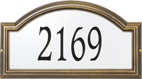 Providence Arch Reflective Wall Plaque