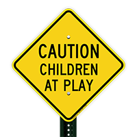 Caution Children At Play Sign