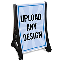 Custom Portable A-Frame Insert Sign