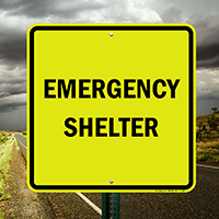Emergency Shelter, Storm sign