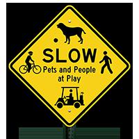 Beware of Children Humorous Sign