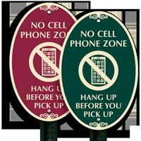 No Mobile Phone SignatureSign