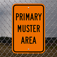 Emergency Primary Assembly Sign