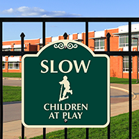 Children At Play SignatureSign