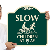 Slow Children At Play with Graphic SignatureSign