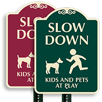 Kids At Play SignatureSign
