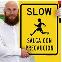 Bilingual Slow Sign
