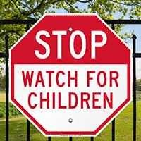 Children Road Safety Sign