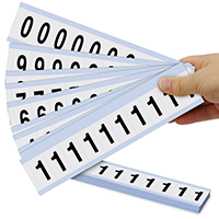 Mylar Numbers Kit - 1' Height Letters
