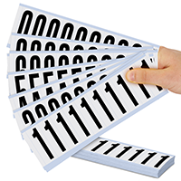 Mylar Numbers Kit - 2 In. Height Letters