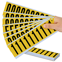 Mylar Numbers Kit - 2' Height Letters