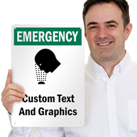 Custom Emergency Sign