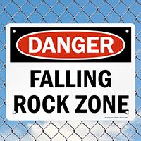 Earthquake Rescue Area Sign