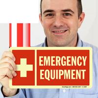 Emergency Equipment GlowSmart Sign