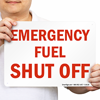 Shut Off Sign