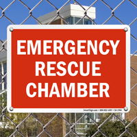 Rescue Chamber Emergency Sign