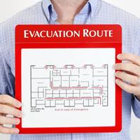 Evacuation Map GlowSign