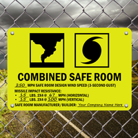 FEMA Safe Room Sign