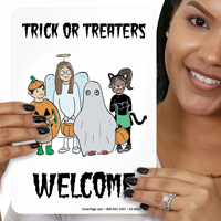 Halloween Welcome Sign